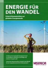 "Titelseite Material ""Energie für den Wandel"". Quelle: misereor.de"
