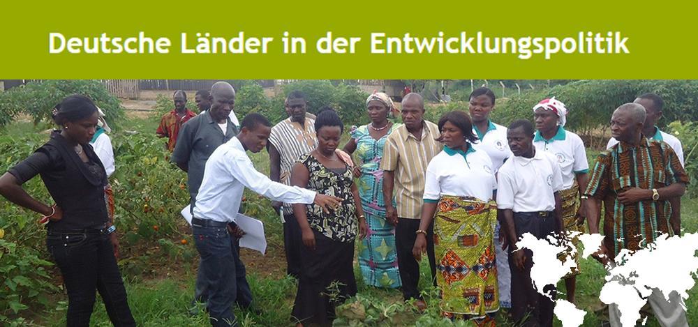 Banner Portal Deutsche Länder in der Entwicklungspolitik. Quelle: https://ez-der-laender.de