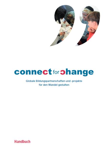 Titelblatt Handbuch Connect  Quelle: connect-for-change.org