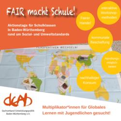 """Aktionstage """"FAIR macht Schule!"""". Quelle: deab.de"""