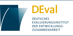 Logo DEval. Quelle: www.deval.org