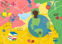 Header Eine Welt - Eine Karte. Quelle: https://einewelt-einekarte.de/