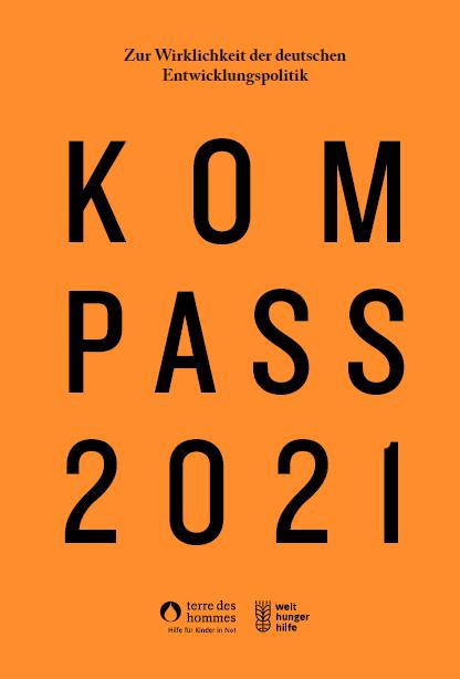 Titelbild Kompass 2021. Quelle: www.welthungerhilfe.de