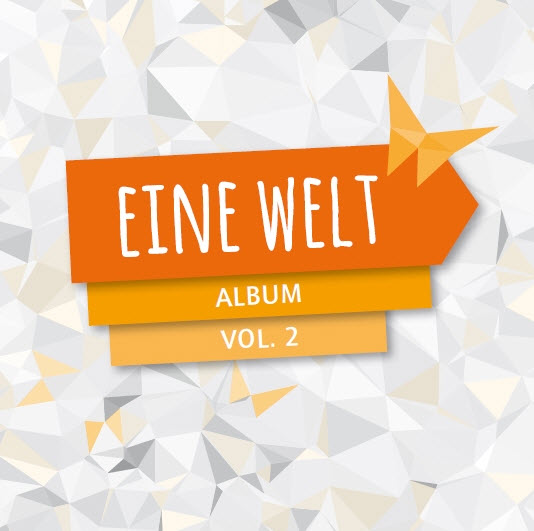 Cover des EINE WELT Album Vol. 2. Quelle: Engagement Global
