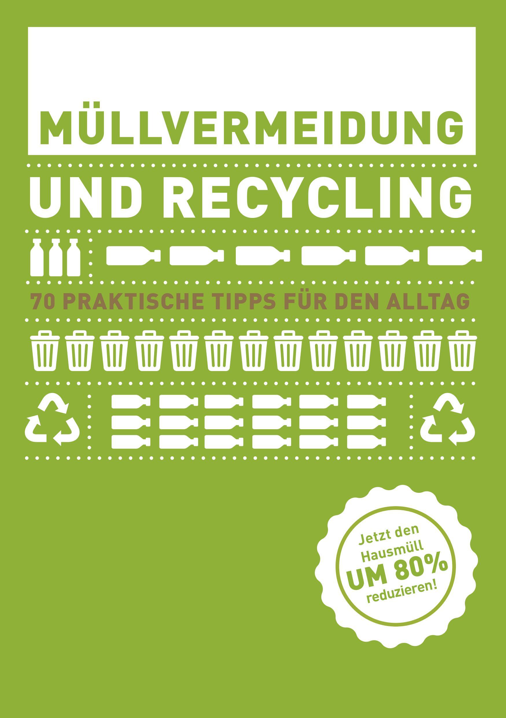 Ebook Müllvermeidung und Recycling. Quelle: http://snm-hnee.de