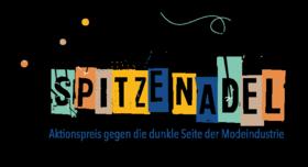 """Logo Aktion """"SPITZE NADEL – Spitze Aktionen gegen die Masche der Modeindustrie"""". Quelle: inkota.de"""
