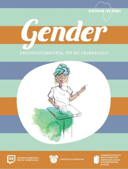 Titelseite Gender Grundschule Gemeinsam für Afrika. Quelle: gemeinsam-fuer-afrika.de