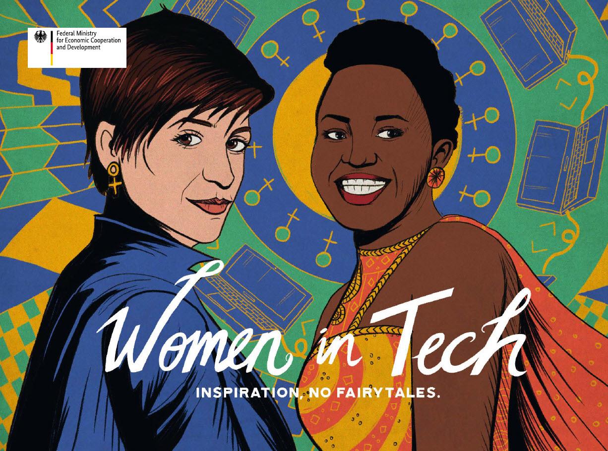 Titelseite Women in Tech. Quelle: bmz.de