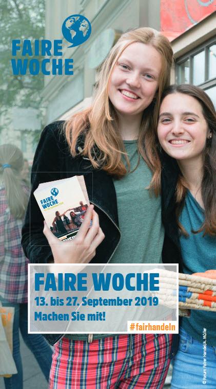 Faire Woche 2019 Flyer Quelle: https://www.forum-fairer-handel.de