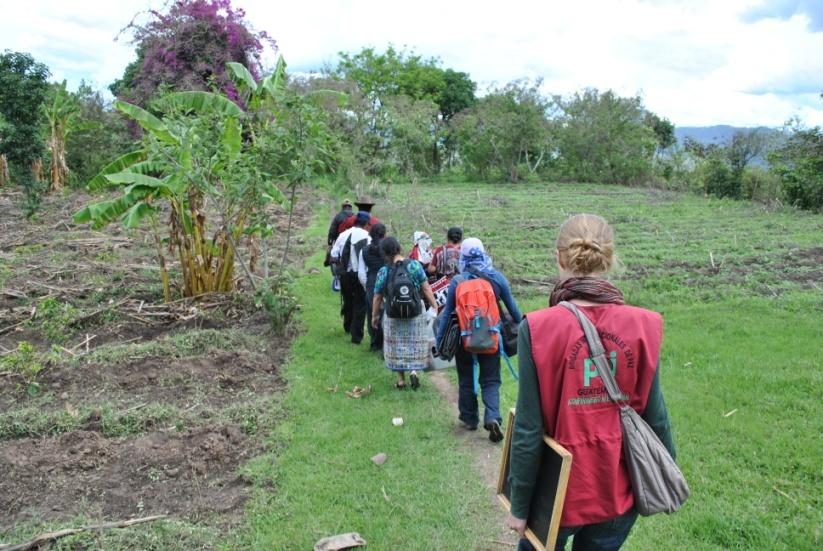Das pbi-Team in Guatemala. Quelle: peace brigades international | Deutscher Zweig e. V.