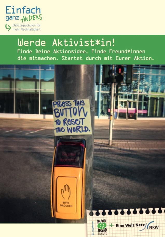 Titelseite Aktionsheft, Quelle: Eine Welt Netz NRW