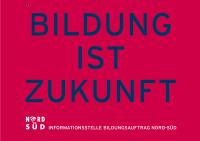 Postkarte Informationsstelle Bildungsauftrag Nord-Süd. Quelle wusgermany.de