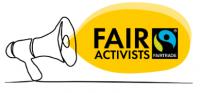 Logo Programm FairActivists. Quelle: TransFair e.V.