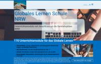 Screenshot www.globales-lernen-schule-nrw.de