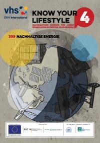 Titelseite der Broschüre zu Nachhaltiger Energie. Quelle: knowyourlifestyle.eu