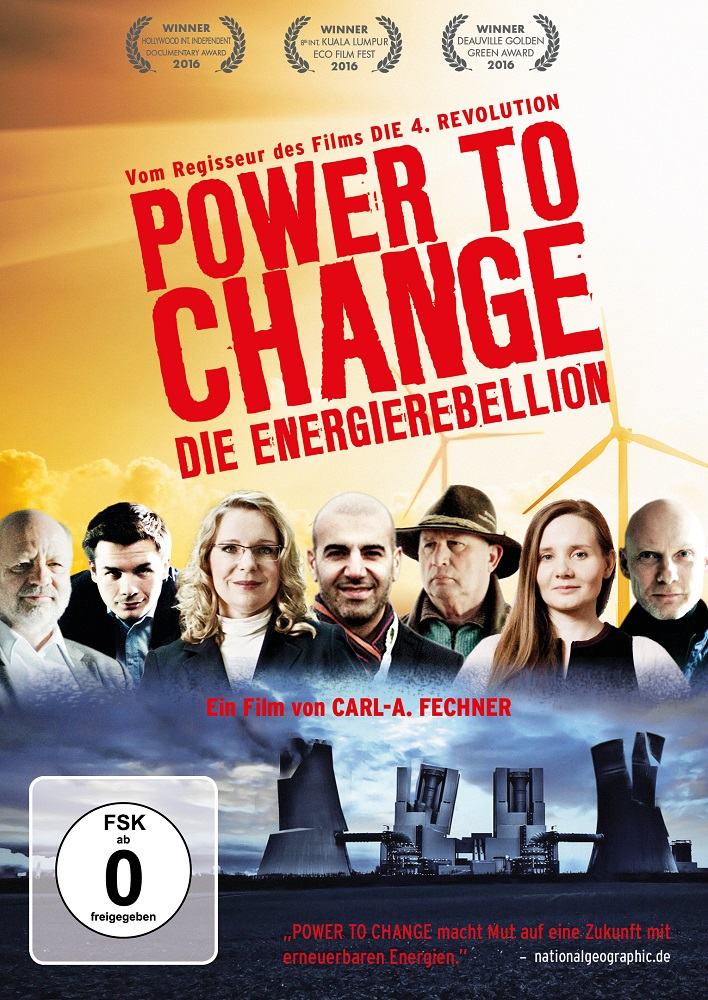 "DVD Cover ""Power To Change"". Quelle: http://filmpresskit.de"
