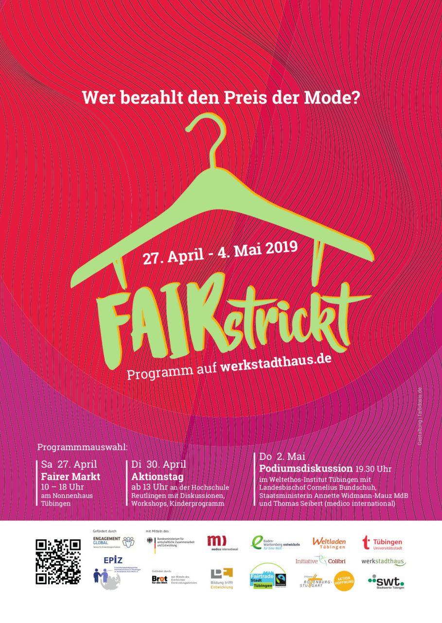 Cover Programm Aktionswoche Mode Tübingen. Quelle: epiz.de