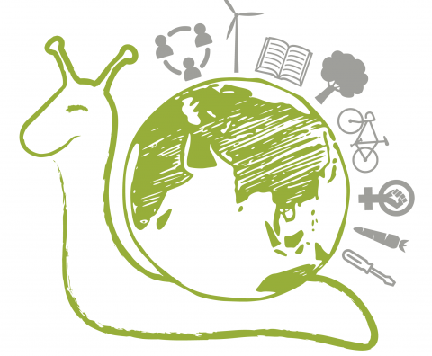 Degrowth Day Logo. Quelle degrowth.info