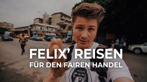 Felix' Reisen für den fairen Handel. Quelle: TransFair e. V.