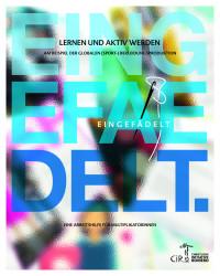 """Titelseite der Werkmappe """"Eingefädelt"""". Quelle: ci-romero.de"""