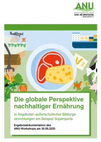 Cover der Ergebnisdokumentation. Quelle: www.umweltbildung.de/8547.html