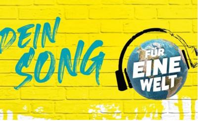 """Logo """"Dein Song für eine Welt"""". Quelle: engagement global"""