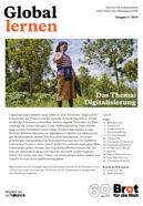 Titelseite Zeitschrift Global Lernen, Ausgabe 2/2019 zum Thema Digitalisierung. Quelle: www.brot-fuer-die-welt.de