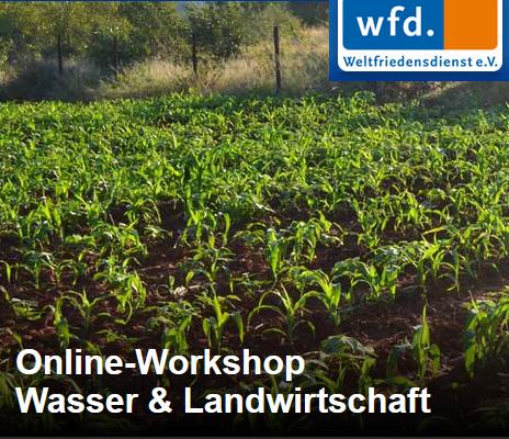 Logo Workshop Wasser & Landwirtschaft. Quelle: https://wfd.de/workshop-landwirtschaft