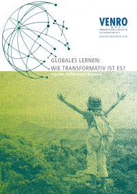 """Titelseite VENRO-Diskussionspapier """"Globales Lernen"""" Quelle: venro.org"""