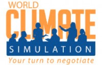 """Logo zum Rollenspiel """"World Climate Simulation"""". Quelle: climateinteractive.org"""