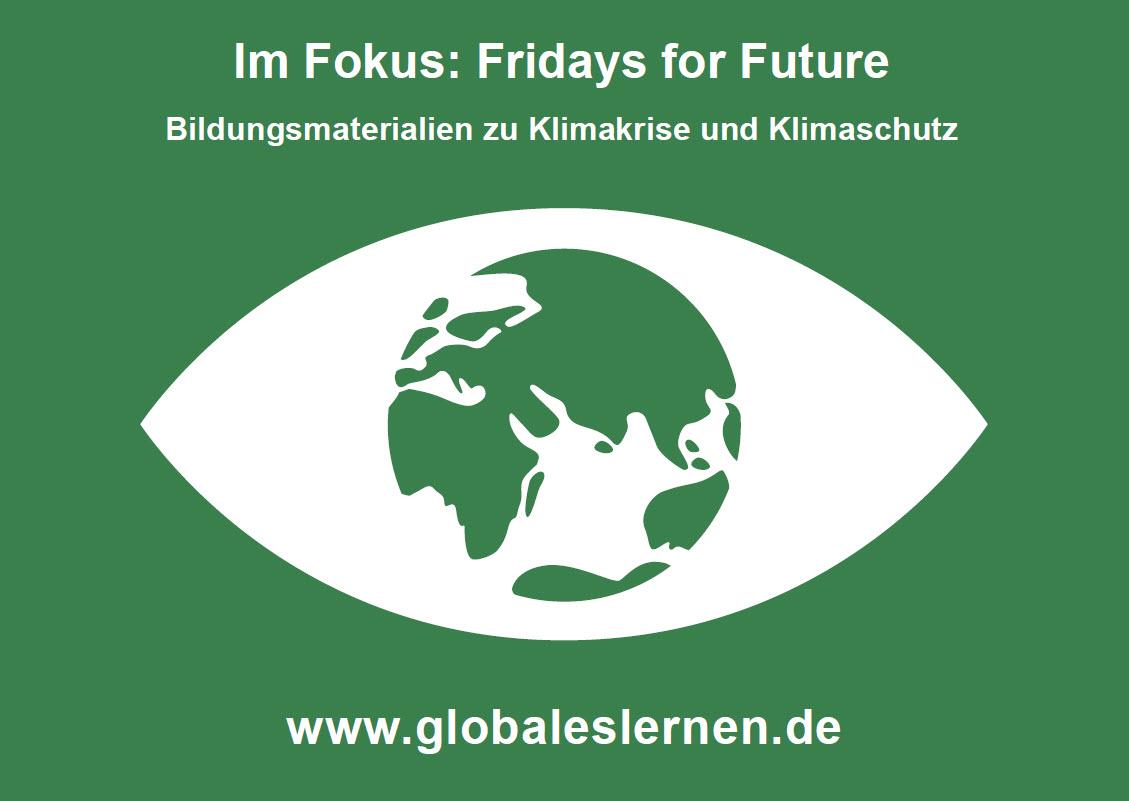 Flyer zum Fokus Fridays for Future. Quelle: WUS