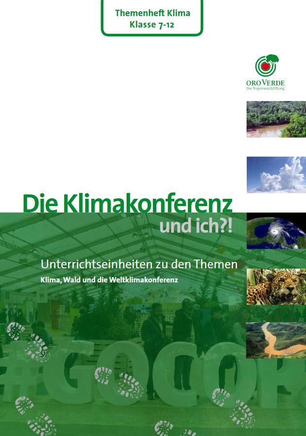 Titelseite des Materials. Quelle: regenwald-schuetzen.org