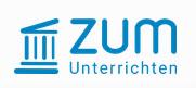 Logo Plattform ZUM. Quelle: unterrichten.zum.de