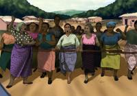 "Szenenbild Comic ""Widerstand. Drei Generationen antikolonialer Protest in Kamerun"". Quelle: initiative-perspektivwechsel.org"