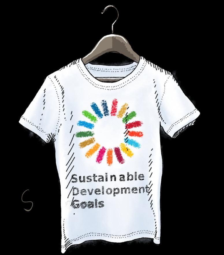 SDG-Shirt. Quelle: BtE