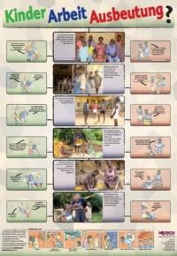 Lernplakat Kinder-Arbeit- Ausbeutung, Quelle: eine-welt-shop.de