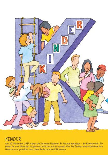 Teil des Leporellos zu Kinderrechten, Quelle: sternsinger.de