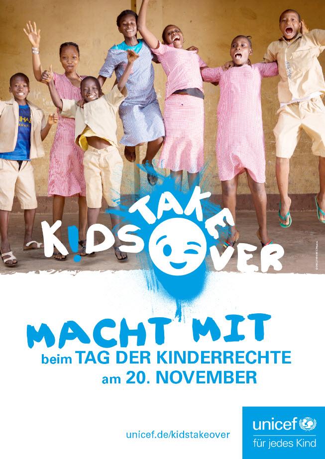 Plakat zum Tag der Kinderrechte. Quelle: UNICEF