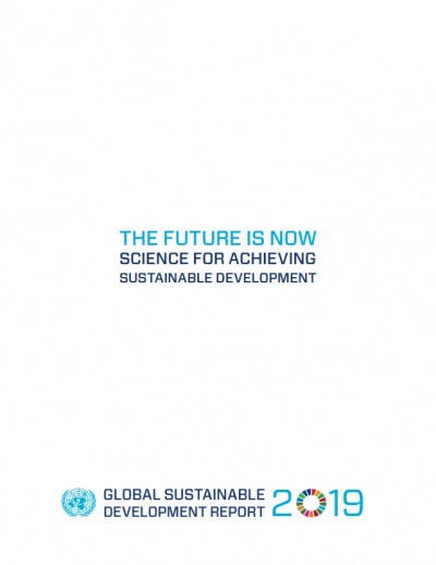 Titelseite Global Sustainable Development Report 2019. Quelle: sustainabledevelopment.un.org