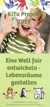 """KiTa Projekt 2019: """"Eine Welt fair entwicklen – Lebensräume gestalten"""". Bildquelle: gse-mv.de"""