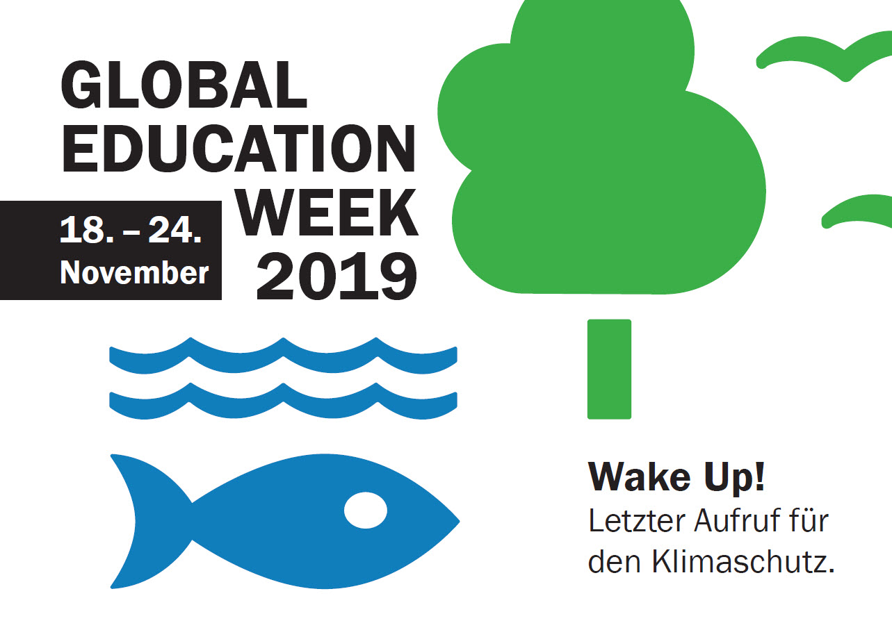 Postkarte zur Global Education Week 2019. Quelle: WUS