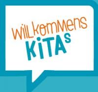 Logo WillkommensKITAs. Quelle: willkommenskitas.de