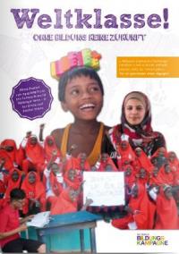 Titelseite des Materialheftes 2019 der Globalen Bildungskampagne. Quelle: bildungskampagne.org