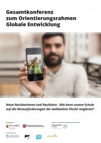 """Titelseite der Handreichung """"Gesamtkonferenz zum Orientierungsrahmen Globale Entwicklung"""". Quelle: ges.engagement-global.de"""