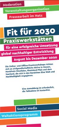 """Ausschnitt Flyer zur Seminarreihe """"Fit für 2030"""". Quelle: renn-netzwerk.de"""