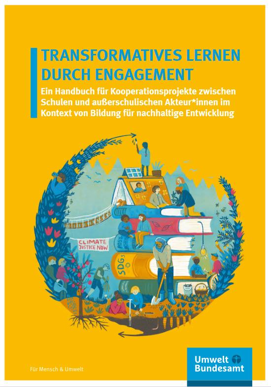 Titelseite Publikation: Transformatives Lernen durch Engagement. Quelle: umweltbundesamt.de