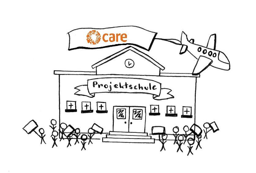 Motiv zum changemaker-Projekt von CARE. Quelle: CARE Deutschland e.V.