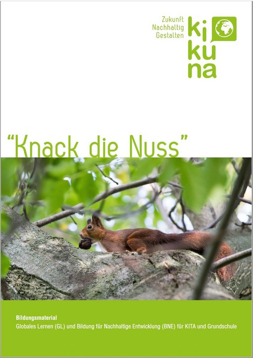 Knack die Nuss - Bildungsmaterial für die Grundschule. Quelle: www.kikuna-welt.de