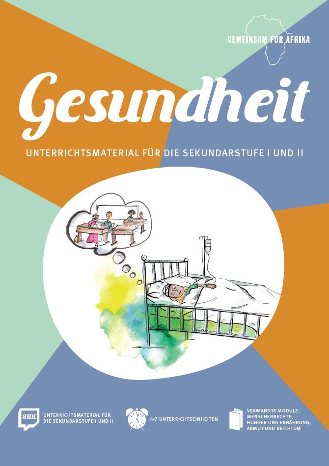 Cover Modul Gesundheit für die Grundschule. Quelle: GEMEINSAM FÜR AFRIKA e.V.