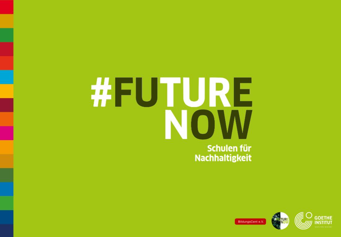 #FUTURENOW Karten zu den 17 Zielen für nachhaltige Entwicklung. Quelle: BildungsCent e.V.
